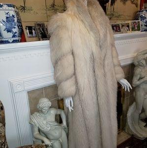 Fabulous Russian Silver Fox full length size 10-12